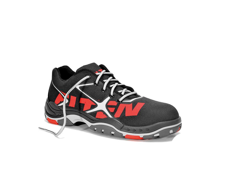 3add7774a8969 s ochrannou špičkou S1, S1P, S3: Pracovná obuv ELTEN TRIBUTE BLACK ...