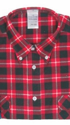 9bb88c07cb56 Pracovná košeľa flanelová TOM - Supermonterky.sk